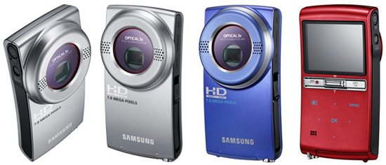 Samsung HMX-U20 and HMX-U15