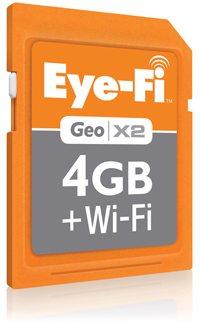 Eye-Fi Geo X2 4GB + Wi-Fi Card