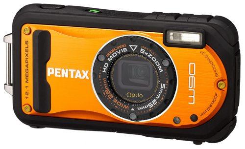 Pentax Optio W90 Orange