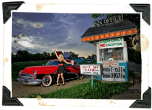 Go Behind-the-Scenes of a Pinup Shoot at the Drive-In: by Boudoir Louisville