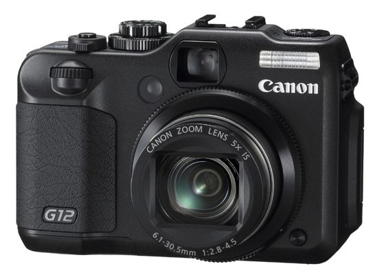 Canon G12 3/4 View