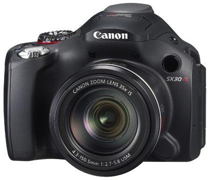 Canon PowerShot SX30 3/4 View
