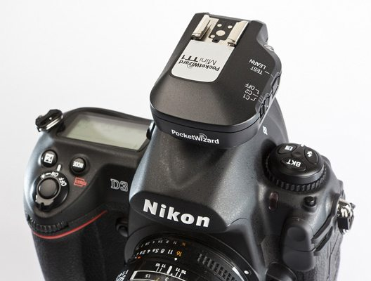 PocketWizard on Nikon DSLR