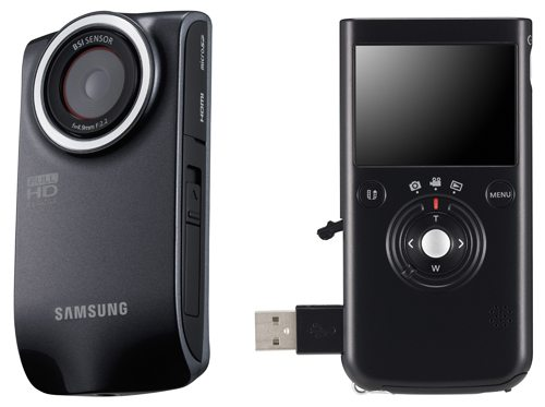 Samsung HMX-P300 and HMX-P100