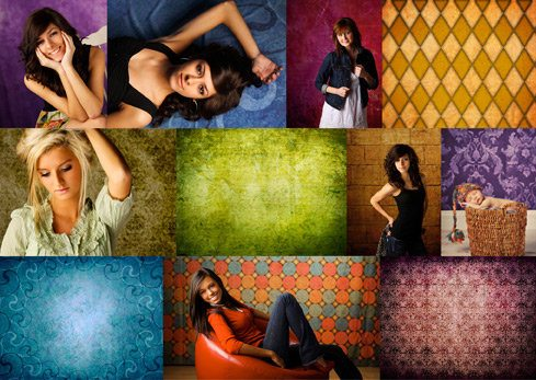 WHCC Printed Photography Backgrounds