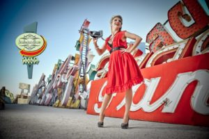 Go Behind-the-Scenes of a Las Vegas Pinup Shoot: by Boudoir Louisville