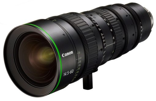 Canon FK14.5-60 wide-angle cine zoom