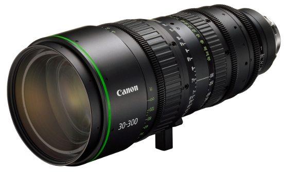 Canon FK30-300 telephoto cine zoom