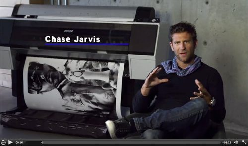Chase Jarvis talks about the new Epson Stylus Pro 9890 Printer