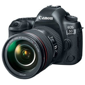 Canon Announces the 5D Mark IV DSLR Camera